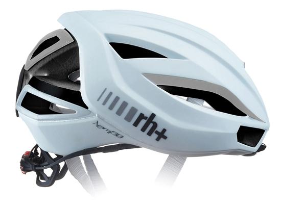 Obrázek z helma RH+ Lambo, shiny white/silver reflex