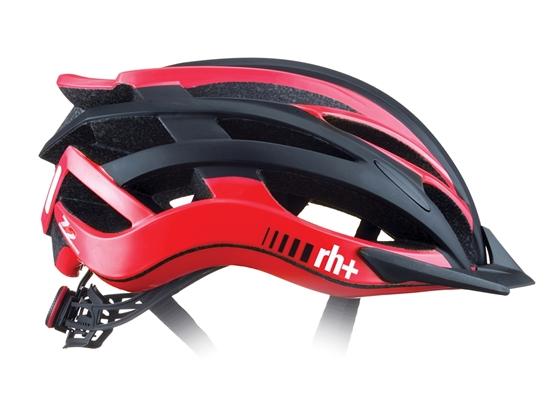 Obrázek z helma RH+ Z2in1, matt black/shiny salmon, AKCE