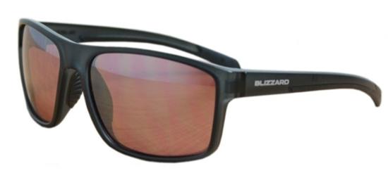 Obrázek z sluneční brýle BLIZZARD sun glasses PCSF703130, rubber dark blue , 66-17-140