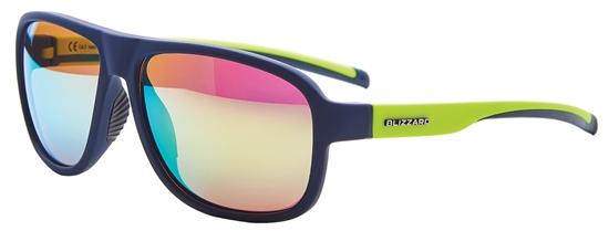 Obrázek z sluneční brýle BLIZZARD sun glasses PCSF705120, rubber dark blue, 65-16-135