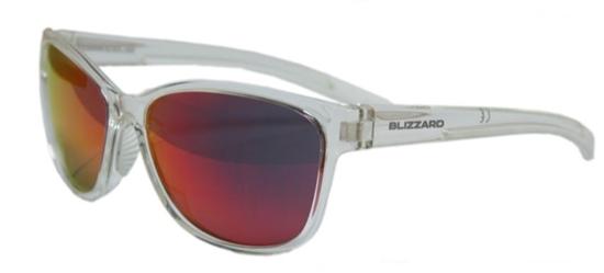 Obrázek z sluneční brýle BLIZZARD sun glasses PCSF702140, rubber trans. dark red, 65-16-135