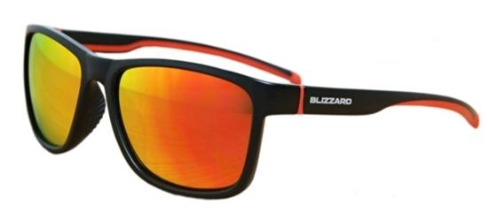 Obrázek z sluneční brýle BLIZZARD sun glasses PCSF704110, rubber dark grey, 63-17-133