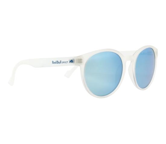 Obrázek z sluneční brýle RED BULL SPECT Sun glasses, LACE-005P, transparent clear, smoke with ice blue mirror POL, 53-20-145