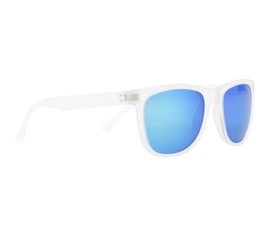 Obrázek z sluneční brýle RED BULL SPECT Sun glasses, LAKE-006P, transparent clear, smoke with turquoise mirror POL, 54-19-145