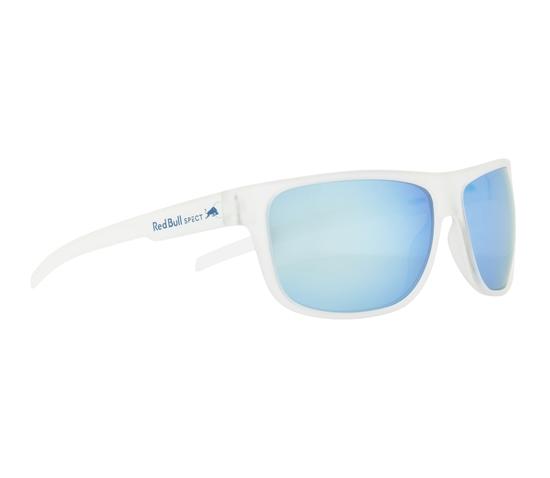 Obrázek z sluneční brýle RED BULL SPECT Sun glasses, LOOM-002P, transparent clear, smoke with ice blue mirror POL, 62-14-130
