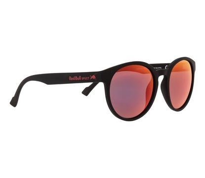 Obrázek sluneční brýle RED BULL SPECT RB SPECT Sun glasses, LACE-004P, black/smoke with red mirror POL, 53-20-145