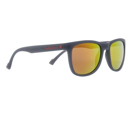 Obrázek z sluneční brýle RED BULL SPECT Sun glasses, LAKE-003P, transparent grey, smoke with red mirror POL, 54-19-145
