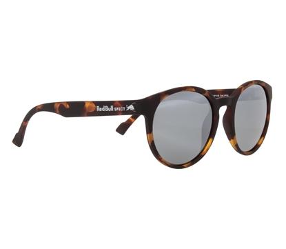 Obrázek sluneční brýle RED BULL SPECT RB SPECT Sun glasses, LACE-003P, havanna/smoke with silver flash POL, 53-20-145