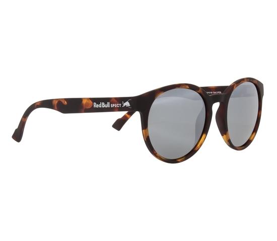 Obrázek z sluneční brýle RED BULL SPECT Sun glasses, LACE-003P, havanna, smoke with silver flash POL, 53-20-145