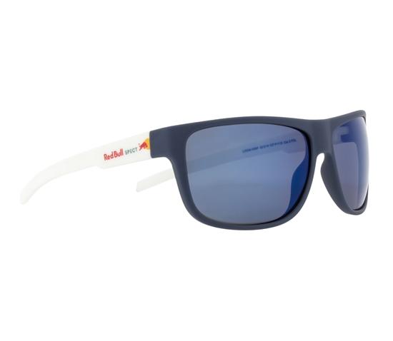 Obrázek z sluneční brýle RED BULL SPECT Sun glasses, LOOM-006P, blue, smoke with blue mirror POL, 62-14-130