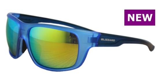 Obrázek z sluneční brýle BLIZZARD sun glasses PCS708140, rubber dark green, 75-18-140