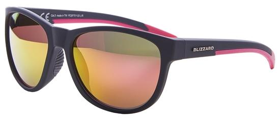 Obrázek z sluneční brýle BLIZZARD sun glasses PCSF701120, rubber dark grey, 64-16-133