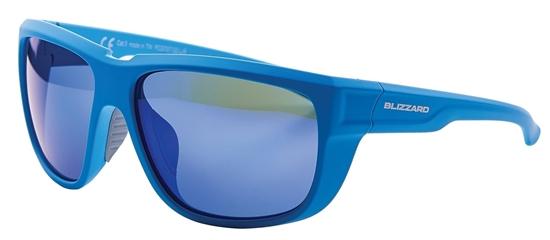 Obrázek z sluneční brýle BLIZZARD sun glasses PCS707130, rubber bright blue, 65-18-140