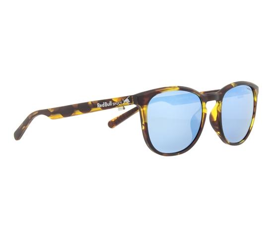 Obrázek z sluneční brýle RED BULL SPECT Sun glasses, STEADY-005P, havanna, smoke with blue mirror POL, 51-18-145