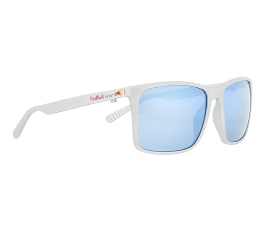 Obrázek z sluneční brýle RED BULL SPECT Sun glasses, BOW-005P, metalic silver, smoke with blue mirror POL, 59-16-145