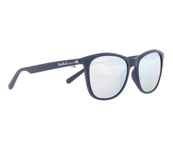 Obrázek z sluneční brýle RED BULL SPECT Sun glasses, FLY-006P, blue, smoke with silver mirror POL, 54-16-145