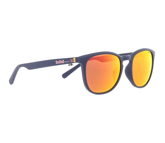 Obrázek z sluneční brýle RED BULL SPECT Sun glasses, STEADY-002P, blue, brown with red mirror POL, 51-18-145