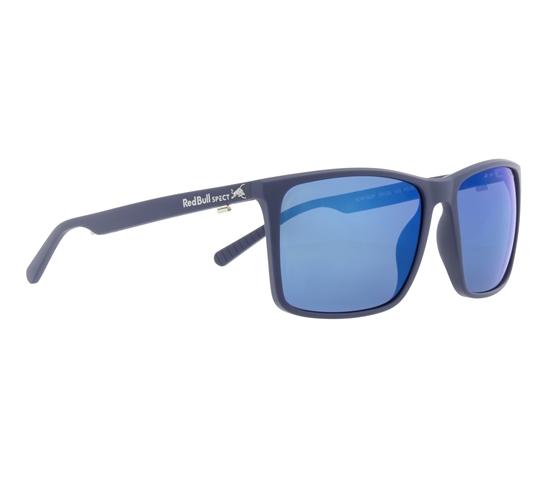Obrázek z sluneční brýle RED BULL SPECT Sun glasses, BOW-003P, blue, smoke with blue mirror POL, 59-16-145