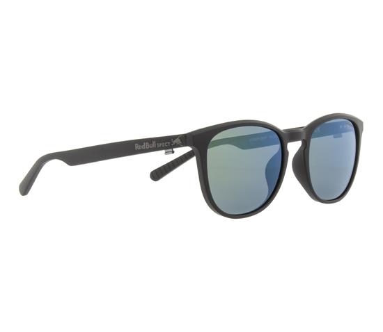 Obrázek z sluneční brýle RED BULL SPECT Sun glasses, STEADY-006P, black, smoke with green mirror POL, 51-18-145
