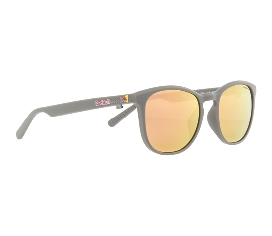 Obrázek z sluneční brýle RED BULL SPECT Sun glasses, STEADY-004P, warm grey, brown with peach mirror POL, 51-18-145
