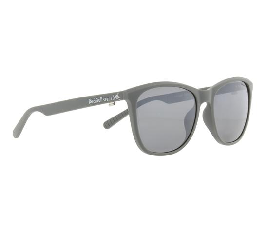Obrázek z sluneční brýle RED BULL SPECT Sun glasses, FLY-003P, grey, smoke with blue mirror POL, 54-16-145