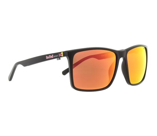 Obrázek z sluneční brýle RED BULL SPECT Sun glasses, BOW-002P, black, brown with red mirror POL, 59-16-145