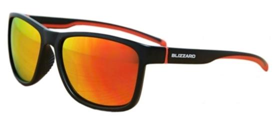 Obrázek z sluneční brýle BLIZZARD sun glasses POLSF704130, rubber black, 63-17-133