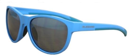 Obrázek z sluneční brýle BLIZZARD sun glasses POLSF701120, rubber dark grey , 64-16-133