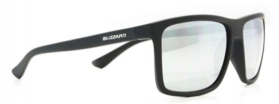 Obrázek z sluneční brýle BLIZZARD sun glasses POLSC801011, rubber black, 65-17-140