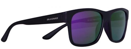 Obrázek z sluneční brýle BLIZZARD sun glasses POLSC802111, rubber black, 64-17-134