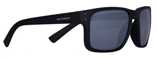 Obrázek z sluneční brýle BLIZZARD sun glasses POLSC606051, rubber dark green + gun decor points, 65-17-135