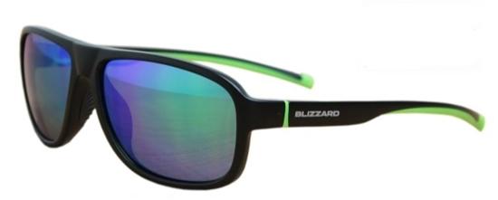 Obrázek z sluneční brýle BLIZZARD sun glasses POLSF705140, rubber trans. dark blue, 65-16-135