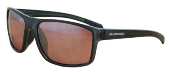 Obrázek z sluneční brýle BLIZZARD sun glasses POLSF703130, rubber dark blue, 66-17-140