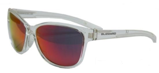 Obrázek z sluneční brýle BLIZZARD sun glasses POLSF702140, rubber trans. dark red, 65-16-135
