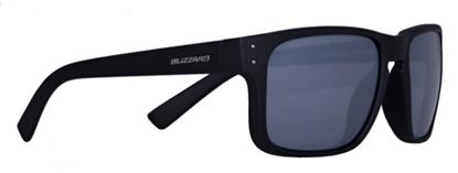 Obrázek sluneční brýle BLIZZARD sun glasses PCSC606003, rubber blue + gun decor points, 65-17-135
