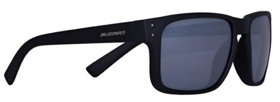 Obrázek z sluneční brýle BLIZZARD sun glasses PCC606111, black matt, 65-17-135