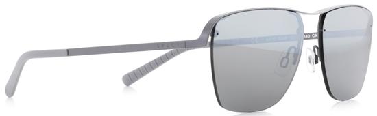 Obrázek z sluneční brýle SPECT Sun glasses, SKYE-004P, grey, grey, green with silver flash POL, 55-14-140