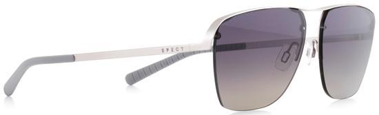 Obrázek z sluneční brýle SPECT Sun glasses, SKYE-002P, silver, grey, smoke gradient POL, 55-14-140