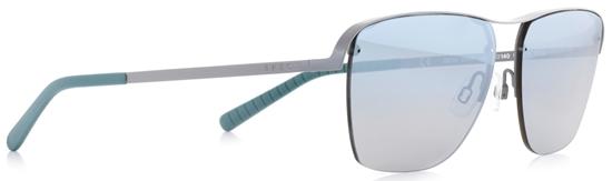 Obrázek z sluneční brýle SPECT Sun glasses, SKYE-005P, green, green, blue gradient with silver flash POL, 55-14-140