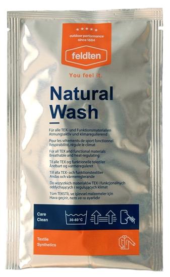 Obrázek z prací a čistící prostředky FELDTEN Natural Wash 50 ml, CZ/SK/PL/HU