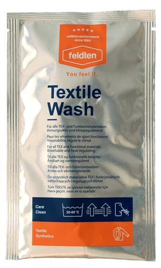 Obrázek z prací a čistící prostředky FELDTEN Textile Wash 50 ml, CZ/SK, AKCE