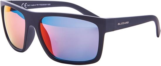 Obrázek z sluneční brýle BLIZZARD sun glasses PCSC603011, rubber black, 68-17-133