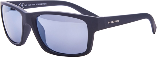 Obrázek z sluneční brýle BLIZZARD sun glasses PCSC602111, rubber black, 67-17-135