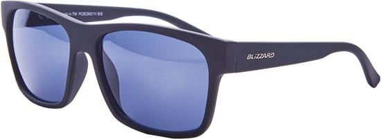 Obrázek z sluneční brýle BLIZZARD sun glasses PCSC802111, rubber black, 64-17-143