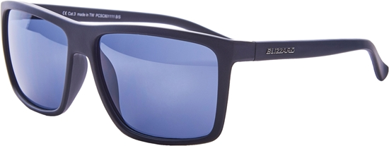 Obrázek z sluneční brýle BLIZZARD sun glasses PCSC801111, rubber black, 65-17-140