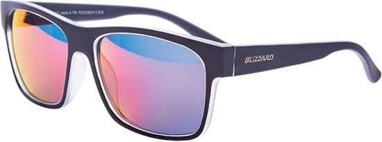 Obrázek z sluneční brýle BLIZZARD sun glasses PCSC802412, trans. mat/outside black mat, 64-17-143
