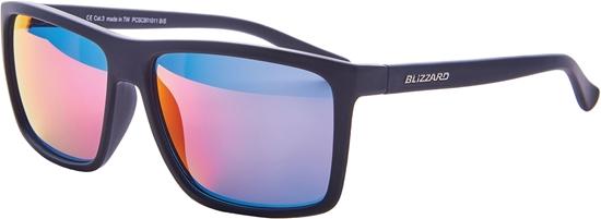 Obrázek z sluneční brýle BLIZZARD sun glasses PCSC801011, rubber black, 65-17-140