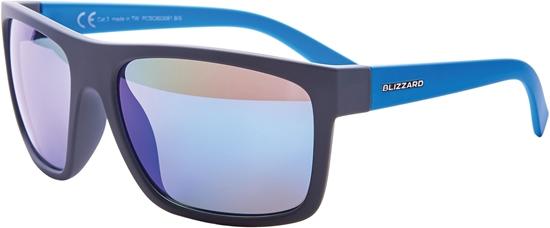 Obrázek z sluneční brýle BLIZZARD sun glasses PCSC603081, rubber dark grey , 68-17-133