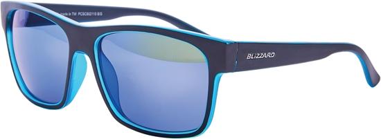 Obrázek z sluneční brýle BLIZZARD sun glasses PCSC802115, trans. sky blue matt/outside black mat, 64-17-143