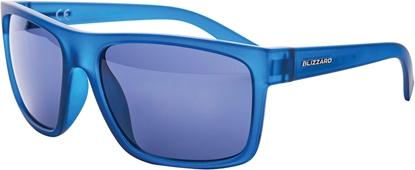 Obrázek sluneční brýle BLIZZARD sun glasses PCSC603091, rubber trans. dark blue , 68-17-133